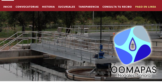 Cómo Realizar El Pago En Línea De OOMAPAS Nogales