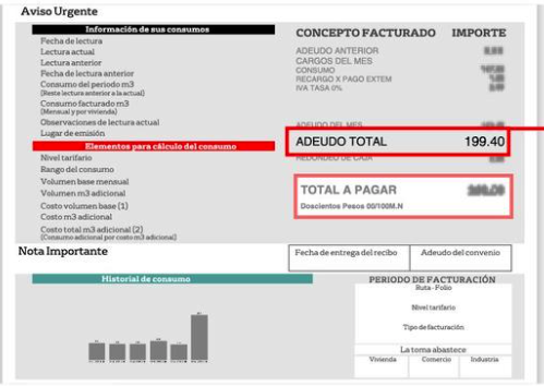 Veolia Aguascalientes Consulta De Recibo